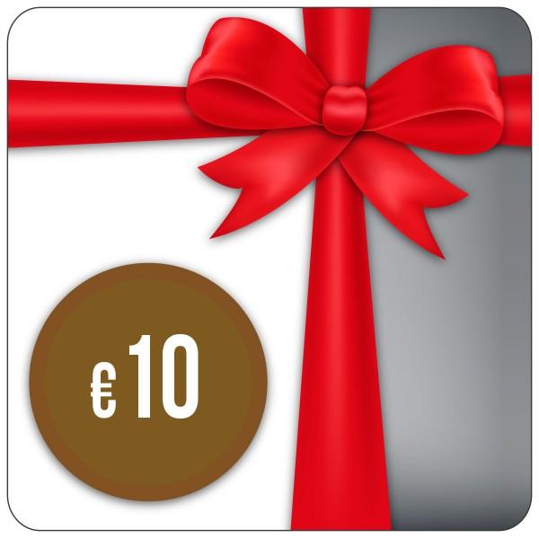 Einkaufsgutschein 10,- Euro