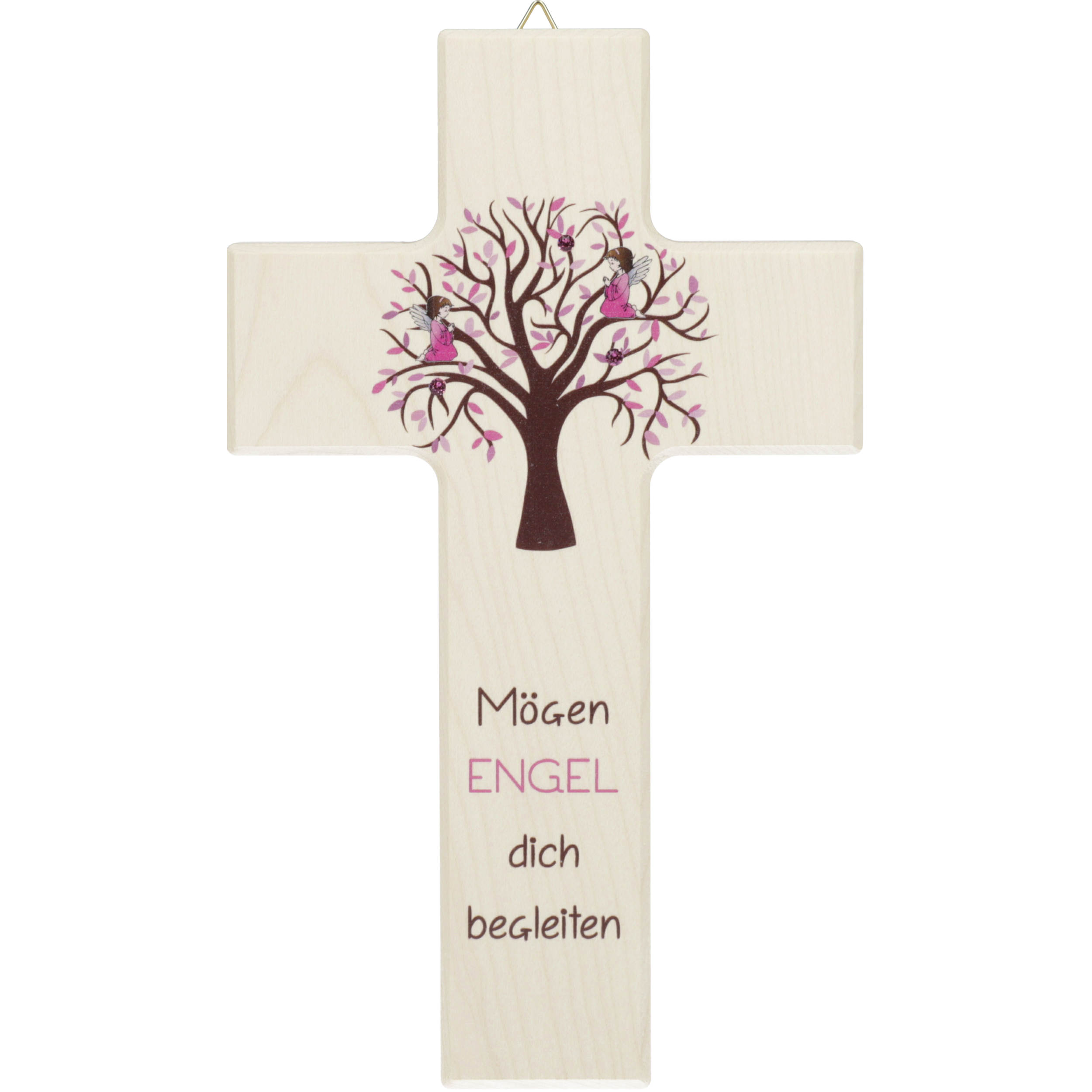 Kinderkreuz Mögen Engel Rosa Lebensbaum Kinderkreuze