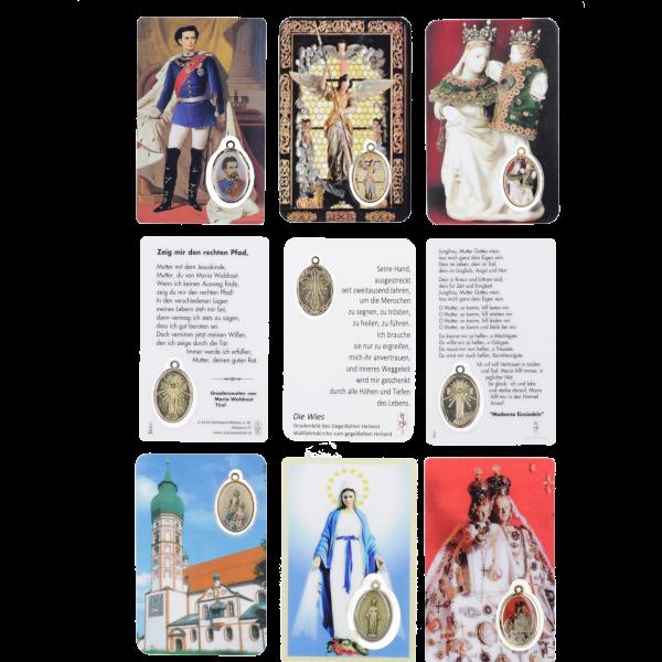 Sonderanfertigung ETS-KartenSpeziell nach Ihren Wünschen....m. Medaillon und eigenem Logo und Gebet oder SpruchSenden Sie uns einfach eine kostenlose Anfrage