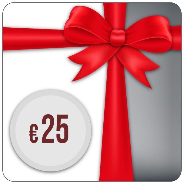 Einkaufsgutschein 25,- Euro