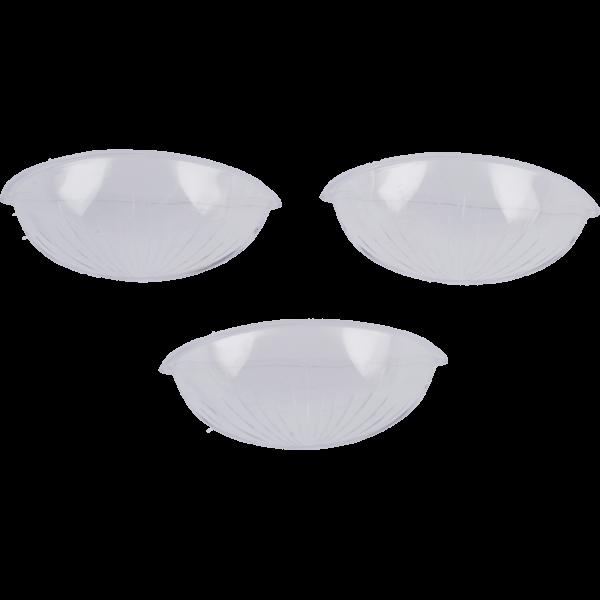 Einsatz für Weihwasserkessel, kleinKunststoff glasklar 7x2x3 cm, VE 3 Stück