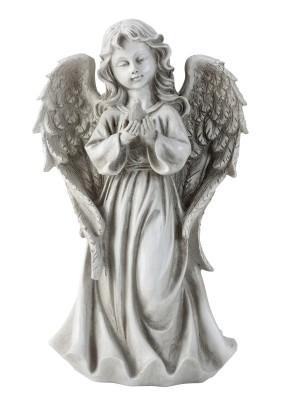Engel stehend m. Vogel VE = 2 Stk.Größe: 32 cm