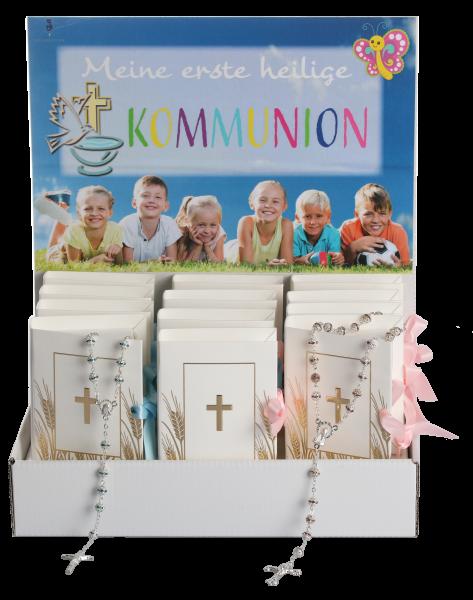 """Display Kommunion """"Geschenkv. Buch"""" 12 Stück"""