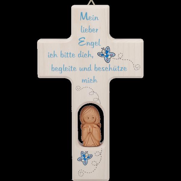 Kinderkreuz mit Tonengel, klein