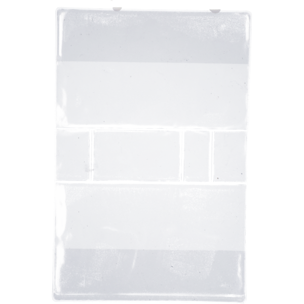 GebetbucheinbandKunststoff transparent, VE = 3 Stück