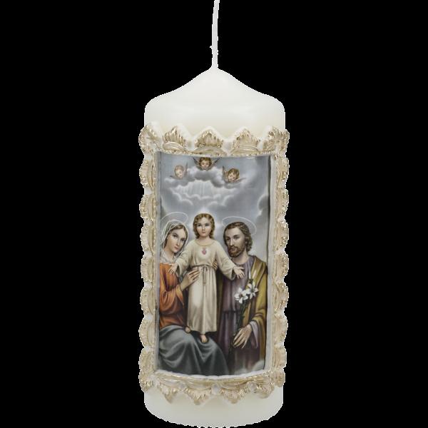 """Kerze """"Heilige Familie"""""""