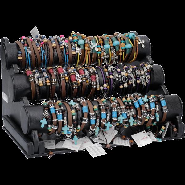 Armbandständer mit 60 Armbändern